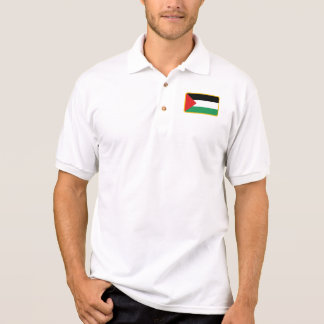 Het polo van het de vlaggolf van Palestina
