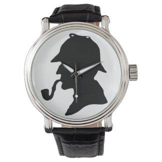 Het Polshorloge van het Silhouet van Sherlock