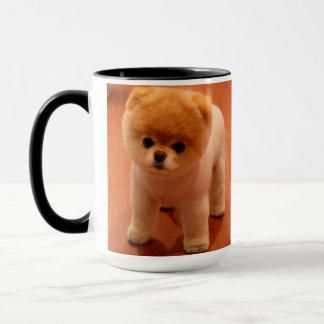 Het pomeranian-leuke puppy-spitz mok