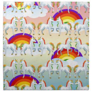Het pony van de regenboog servetten