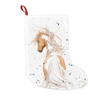 Het Pony van de Verf van Palomino door Bihrle Kleine Kerstsok