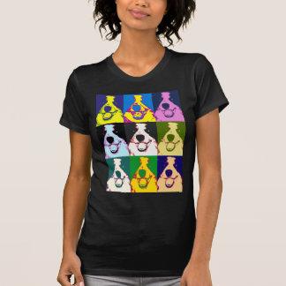 Het Pop-art van border collie T Shirt