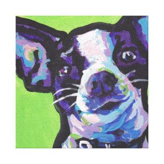 Het Pop-art van Chihuahua Canvas Afdrukken