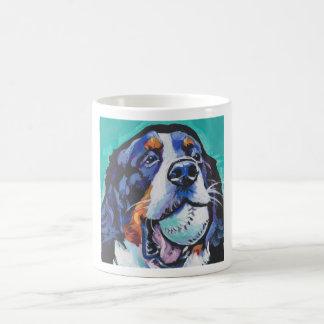 Het pop-art van de Hond van de Berg van Bernese Koffiemok