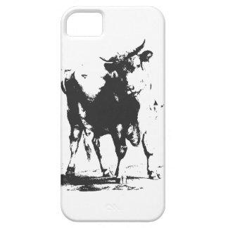 Het Pop-art van de stier Barely There iPhone 5 Hoesje