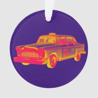 Het Pop-art van de Taxi van de Cabine van de Ornament