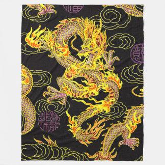 Het populairste Chinese NeoArt. van de Draak Fleece Deken