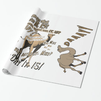 Het populairste Verpakkende Document van de Kameel Inpakpapier