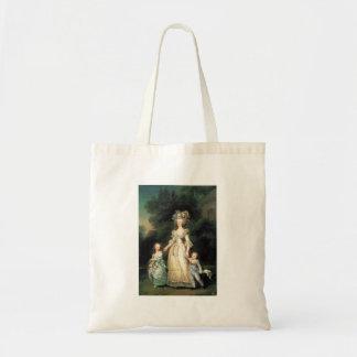 Het portret Marie Antoinette van de zak avec enfan Budget Draagtas