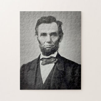 Het Portret van Abraham Lincoln Gettysburg Legpuzzel