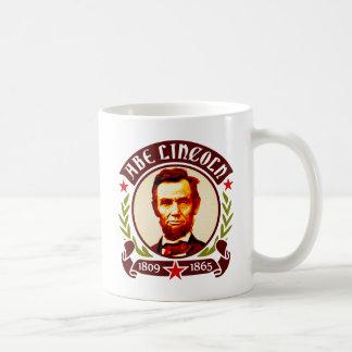 Het Portret van Abraham Lincoln van het president Koffiemok