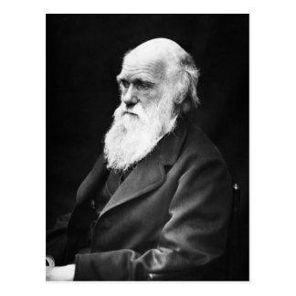 Het Portret van Charles Darwin Briefkaart