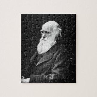 Het Portret van Charles Darwin Puzzel