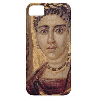 Het Portret van de brij van een Vrouw van Fayum iPhone 5 Hoesjes