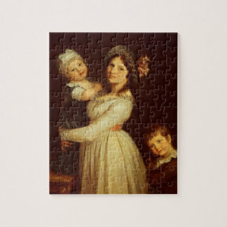 Het portret van de familie van Mevrouw Anthony en  Puzzel
