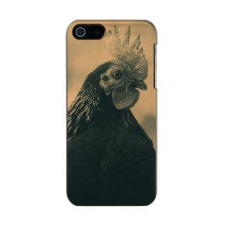 Het Portret van de haan Incipio Feather® Shine iPhone 5 Hoesje