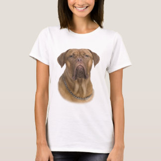 Het Portret van Dogue DE Bordeaux T Shirt