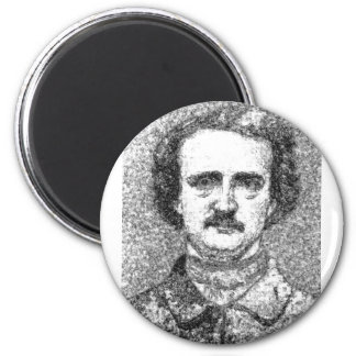 Het Portret van Edgar Allan Poe Magneet