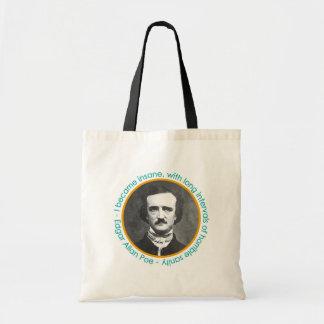Het Portret van Edgar Allan Poe met de Zak van het Draagtas