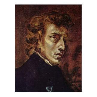 Het Portret van Frédéric Chopin Briefkaart