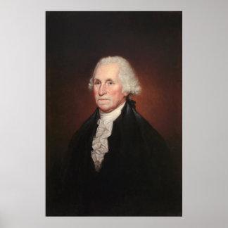 Het Portret van GEORGE WASHINGTON door Rembrandt Poster