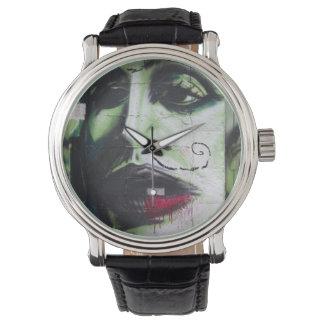 Het portret van Graffiti Horloge