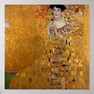 Het Portret van Gustav Klimt //Adele Bloch-Bauer's Poster
