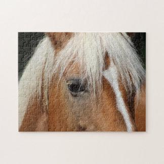 Het portret van het paard puzzel