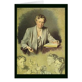 Het portret van het Witte Huis van Roosevelt van Briefkaarten 0