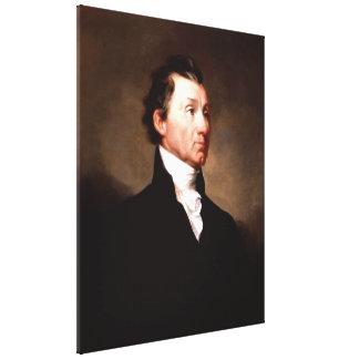 Het Portret van JAMES MONROE van het president Canvas Afdrukken