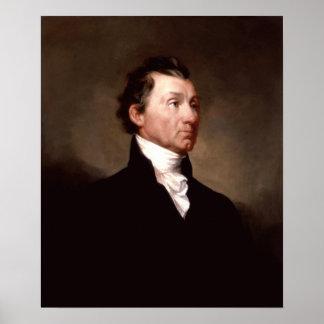 Het Portret van James Monroe van het president Poster