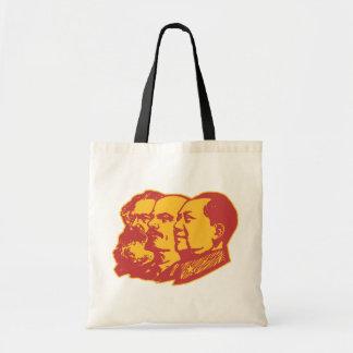 Het Portret van Lenin Mao van Marx Draagtas