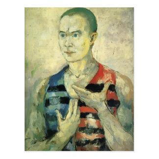 Het Portret van Malevich- van Kazimir van de Jeugd Briefkaart