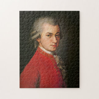 Het Portret van Mozart Puzzels
