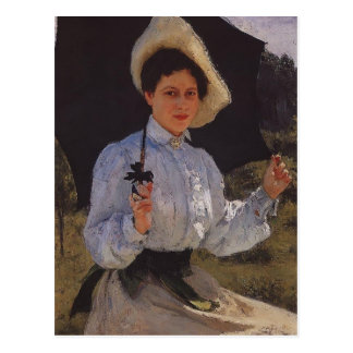 Het Portret van Repin- van Ilya van Nadezhda Briefkaart