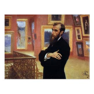 Het Portret van Repin- van Ilya van Pavel Briefkaart