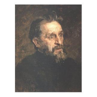 Het Portret van Repin- van Ilya van schilder Briefkaart