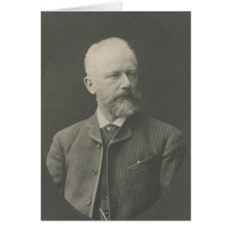 Het Portret van Tchaikovsky Kaart