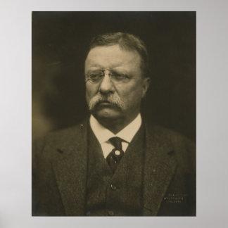 Het Portret van Theodore Roosevelt door de Broers Poster