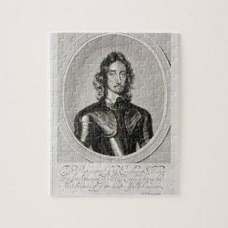 Het portret van Thomas, Lord Fairfax (1612-71) gra Puzzel