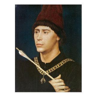 Het Portret van Weyden- van Rogier van Antoine Briefkaart