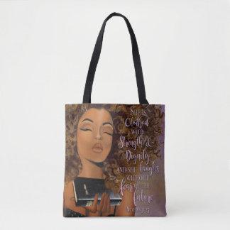 Het positieve Canvas tas van de Vrouw