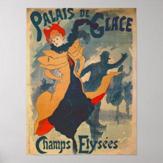Het poster adverteren Palais DE Glace