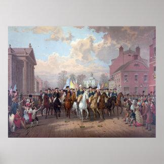 """Het poster/de druk van """"George Washington in New Poster"""