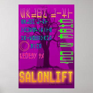 Het Poster hallo Onderzoek van de Lift van de salo