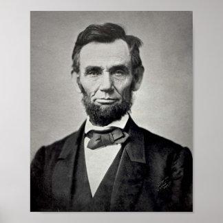 Het Poster van Abraham Lincoln