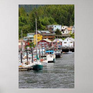 Het Poster van Alaska van Ketchikan