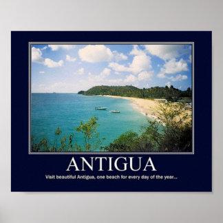 Het Poster van Antigua
