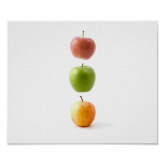 Het Poster van appelen