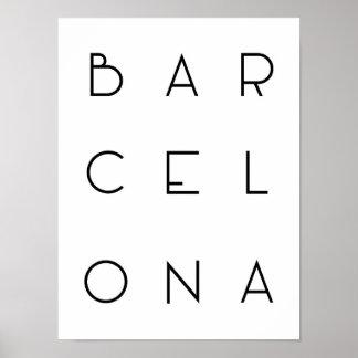 Het Poster van Barcelona